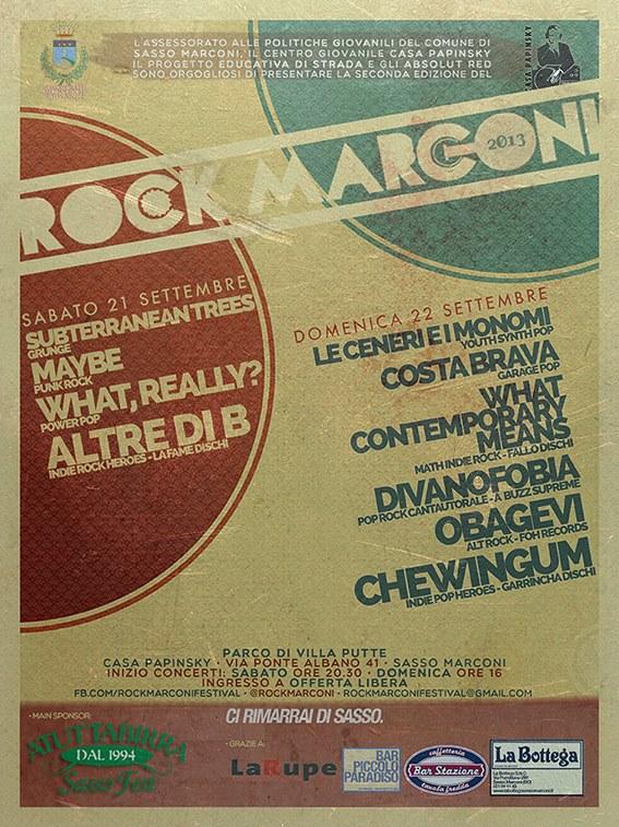 Rock Marconi 2013