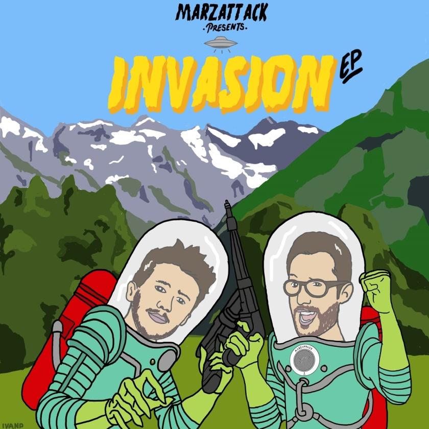 MarzAttack - Invasion EP