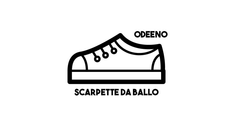 Scarpette da ballo w/Odeeno