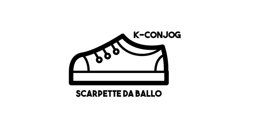 Scarpette da ballo w/K-Conjog